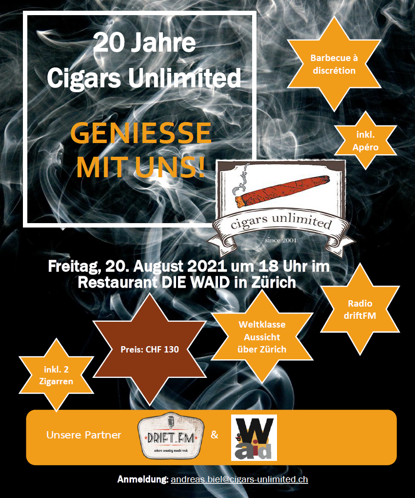 20 Jahre Cigars Unlimited